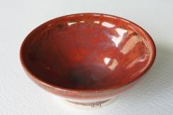 Orange Red Glaze