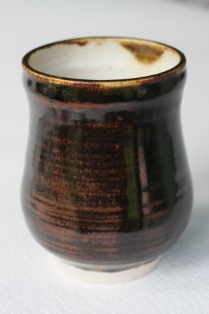 Tenmoku Glaze, Beaker