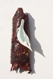 Nuthatch - Celadon & Oatmeal Glazes - £17.50