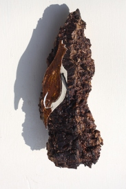 Treecreeper - Orange Red & Oatmeal Glazes - £17.50