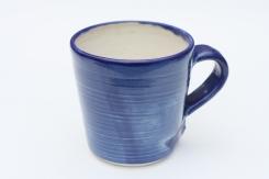 Porcelain Blue, Ivory Inner Glaze Large Mug £9.50