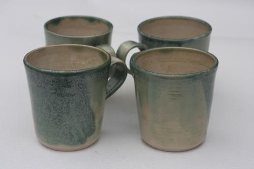 Celadon Glaze, Large Mugs - £9.50 each