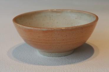 Bowl - Melon Glaze Outer, Ivory Inner - £12