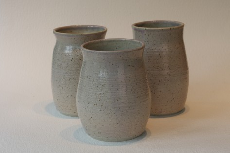 Speckled clay body with Lilac Glaze - £20 each